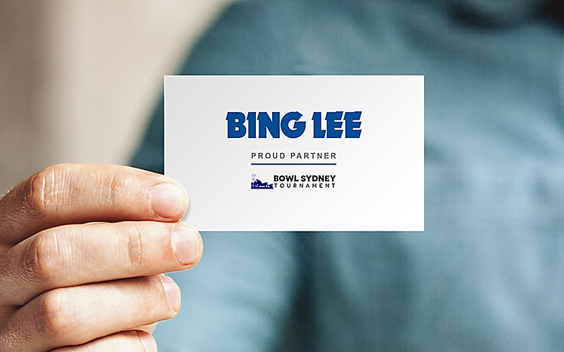 Bowl Sydney Bing Lee VIP Card